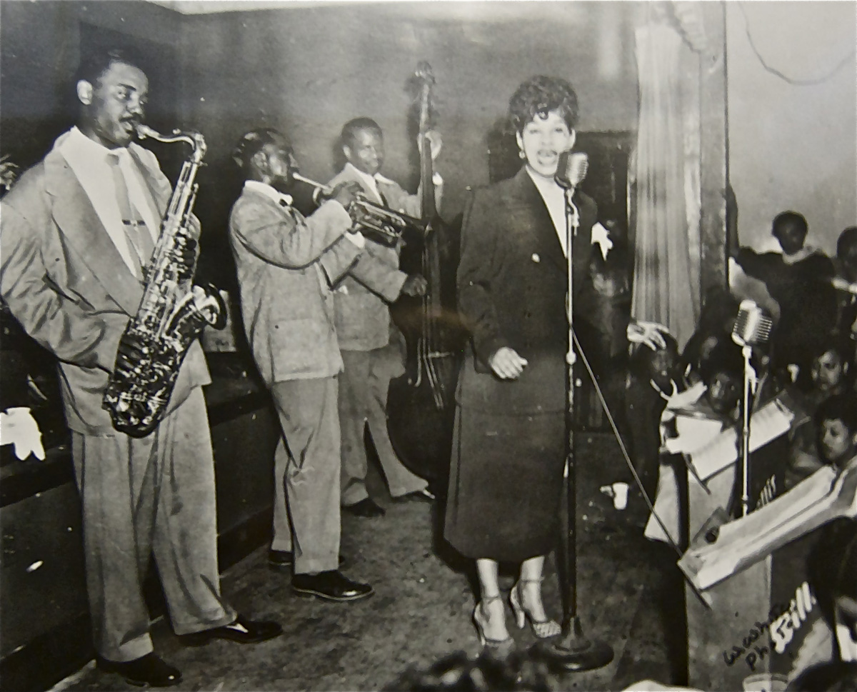 Ruth Brown, Dreamland Ballroom, North Omaha, Nebraska