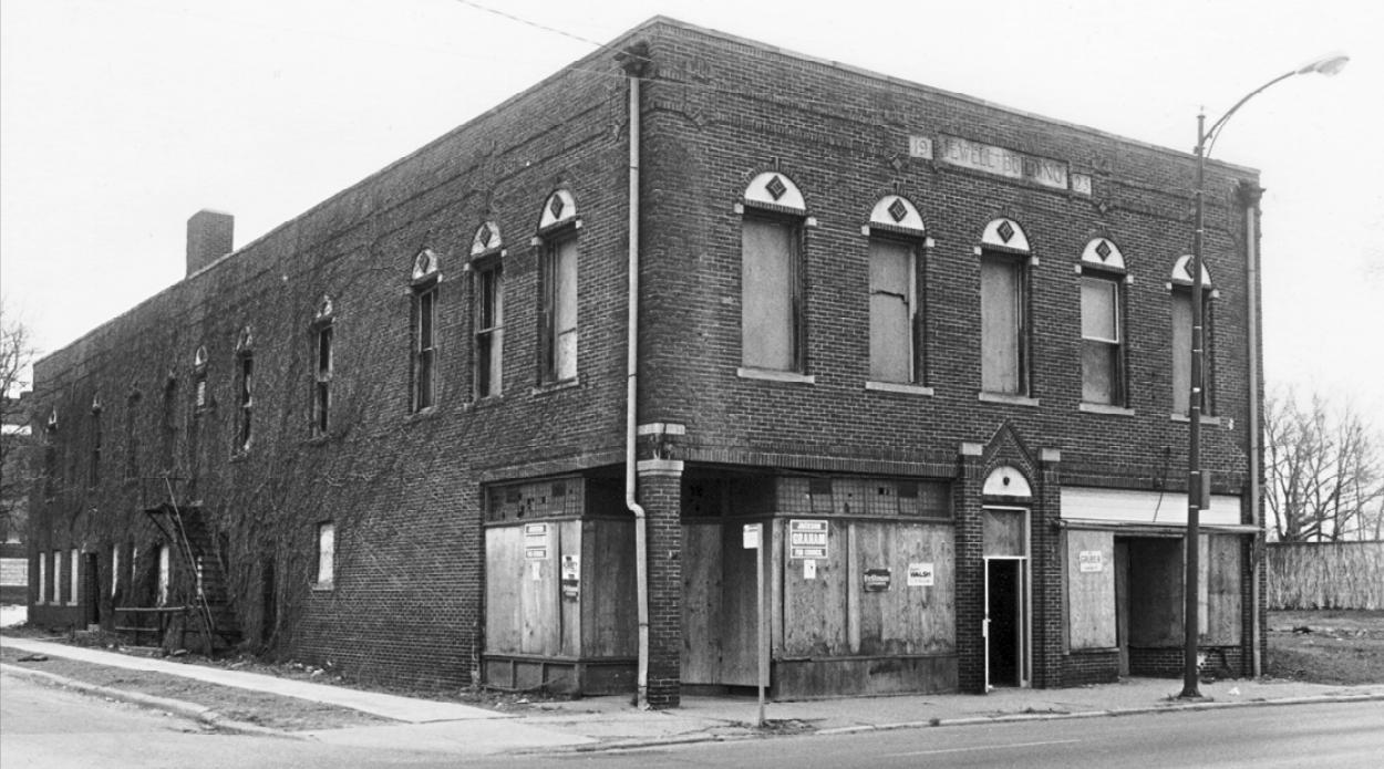 Jewell Building, 2221 North 24th Street, North Omaha, Nebraska