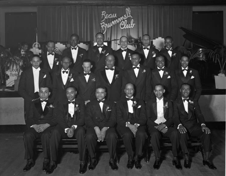 c1946 pic of the Beau Brummell Club, Dreamland Ballroom, 2221 North 24th Street, North Omaha, Nebraska