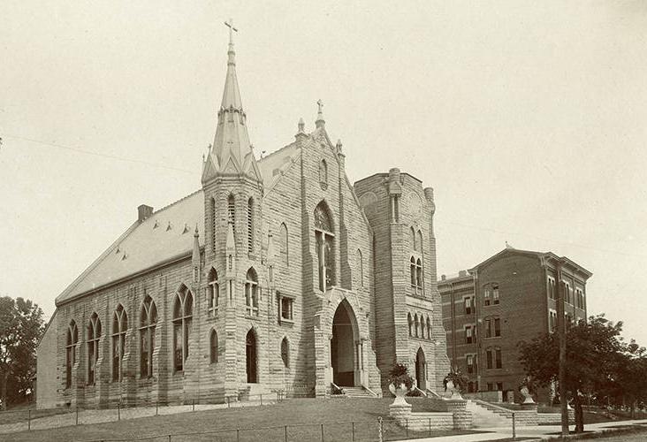 St. John's Catholic Church, N. 25th and California Streets, North Omaha, Nebraska