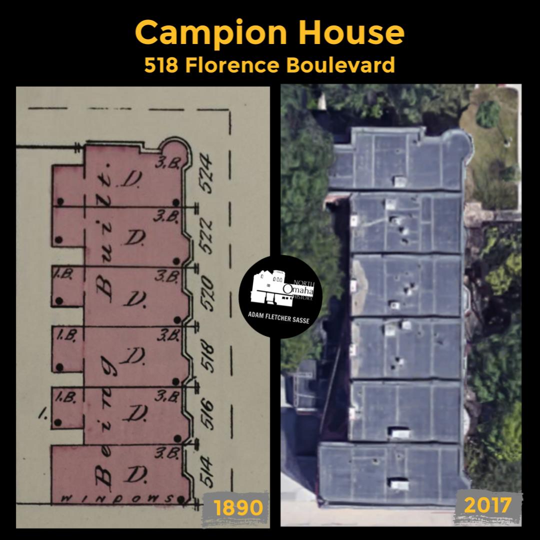 Campion House, 518 Florence Boulevard, North Omaha, Nebraska