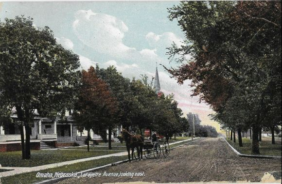 Lafayette Avenue, North Omaha, Nebraska