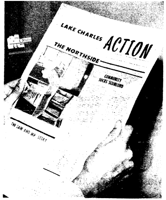 Lake-Charles Action newspaper, North Omaha, Nebraska