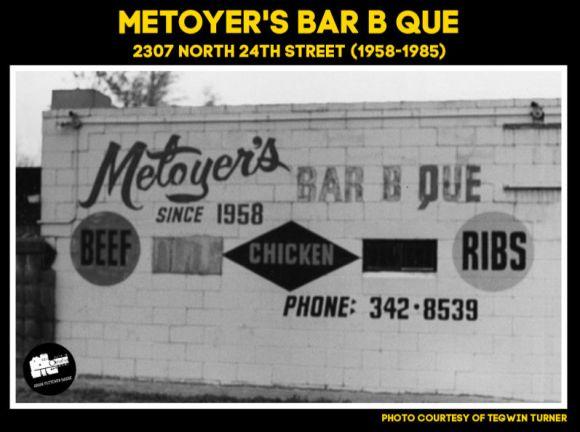Metoyer's BBQ, 2307 North 24th Street, North Omaha, Nebraska