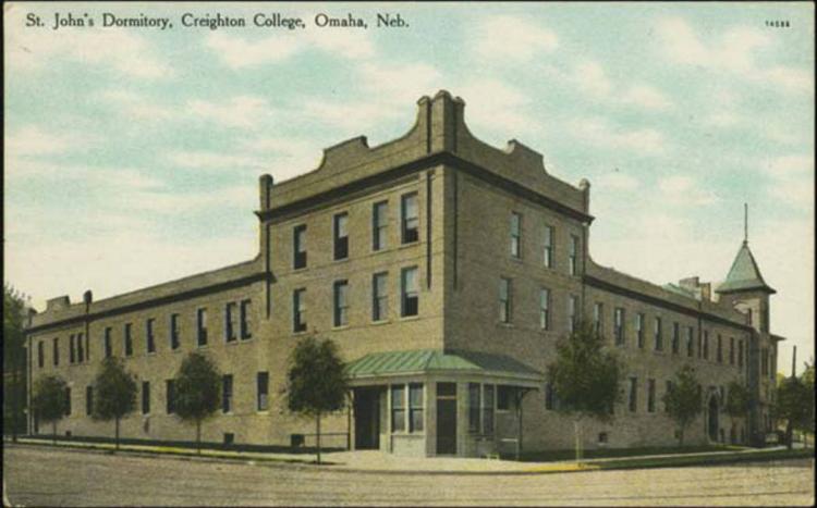 1907 St. John's Dormitory, Creighton College, North Omaha, Nebraska