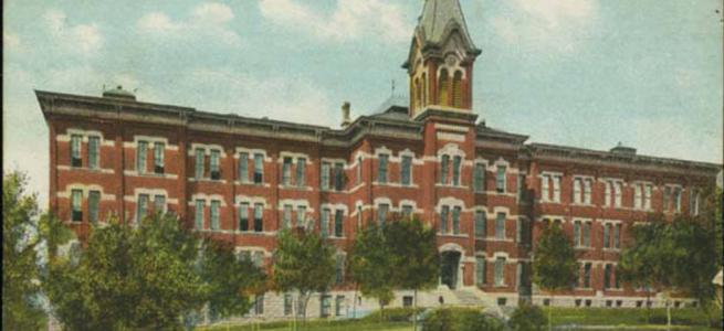 Creighton University, North 25th and California Street, North Omaha, Nebraska