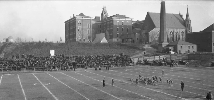 Creighton Stadium in 1912
