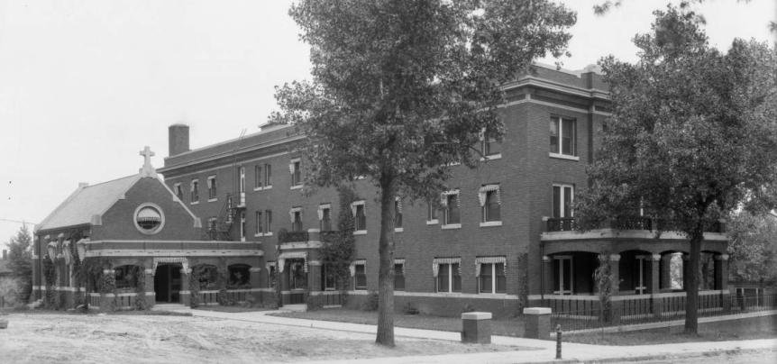 Creighton Working Girls Home, 2104 Davenport Street, Omaha, Nebraska.