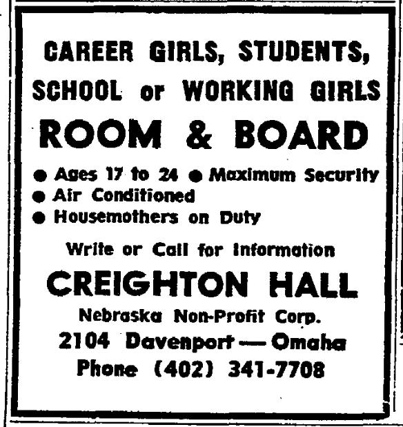 Creighton Hall, 2104 Davenport St, Omaha, Nebraska