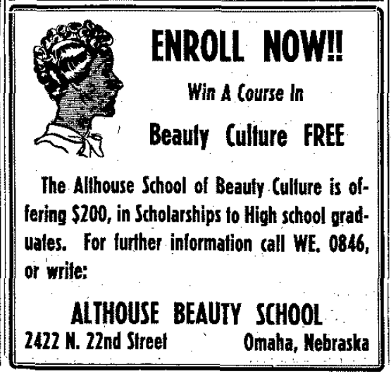 Althouse_beauty_school_omaha_1959
