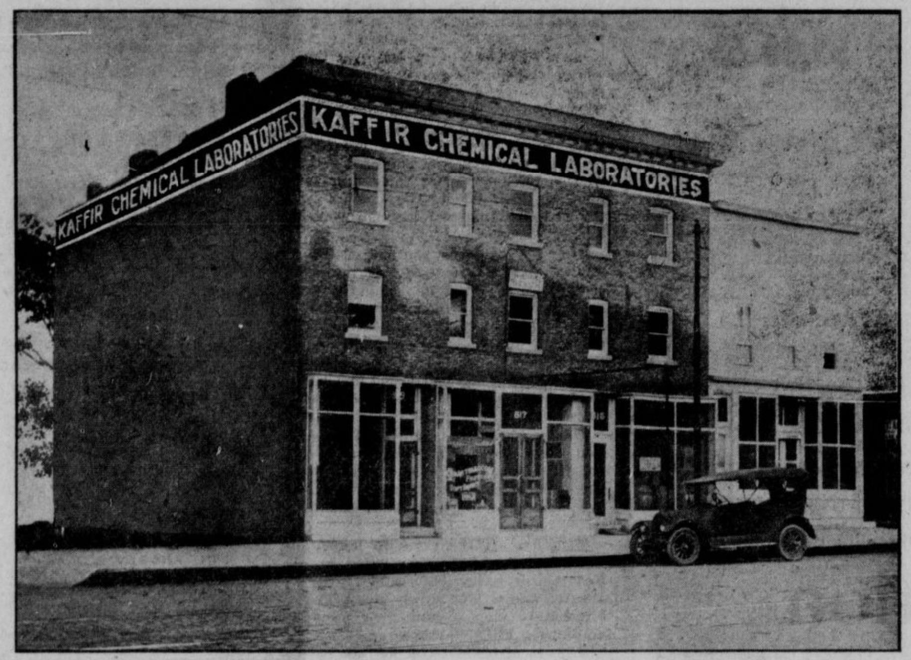 Kaffir Block, 817 North 16th St., Omaha, Nebraska