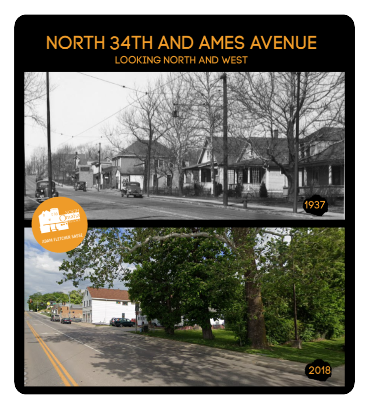N. 34th and Ames Ave., North Omaha, Nebraska