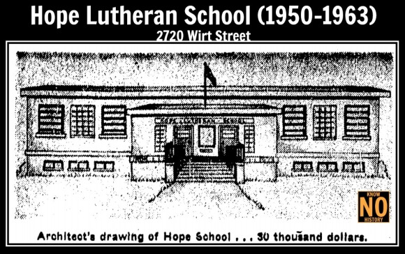 Hope Lutheran School, 2720 Wirt Street, North Omaha, Nebraska