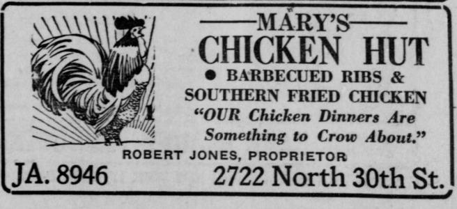 Mary's Chicken Hut, 2722 North 30th Street, North Omaha, Nebraska