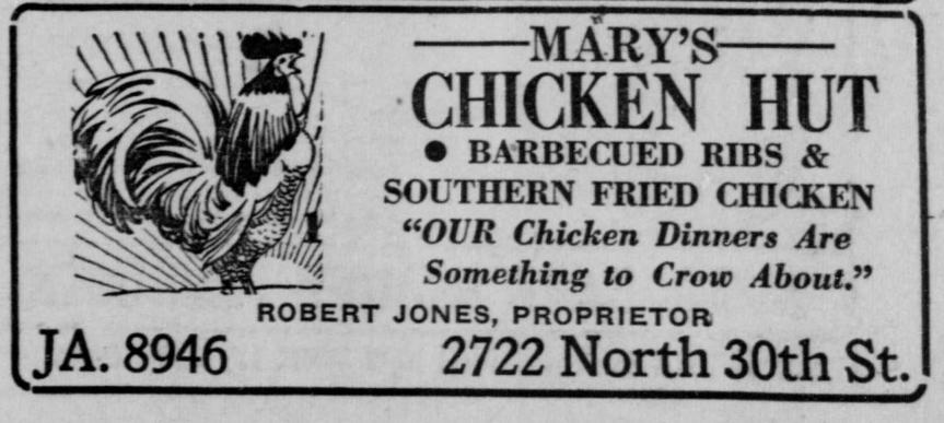 A History of Mary's ChickenHut