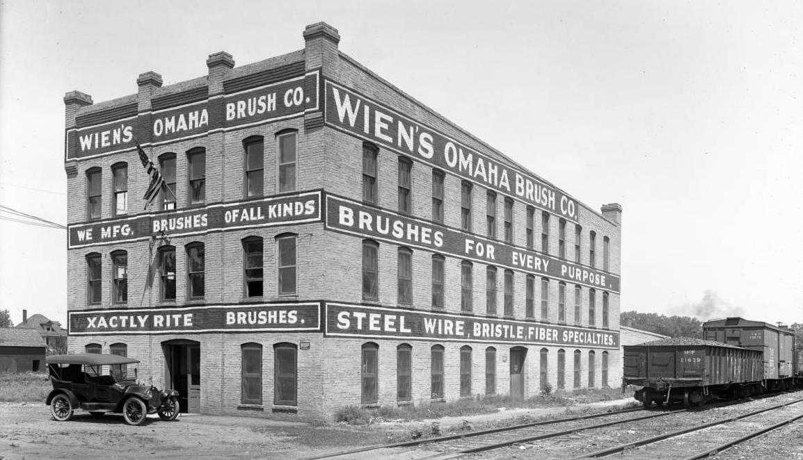 Wien's Omaha Brush Company, 4301 North 28th Street, North Omaha, Nebraska.