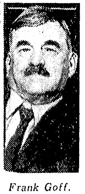 """Frank E. """"Daddy"""" Goff (1847-1947)"""