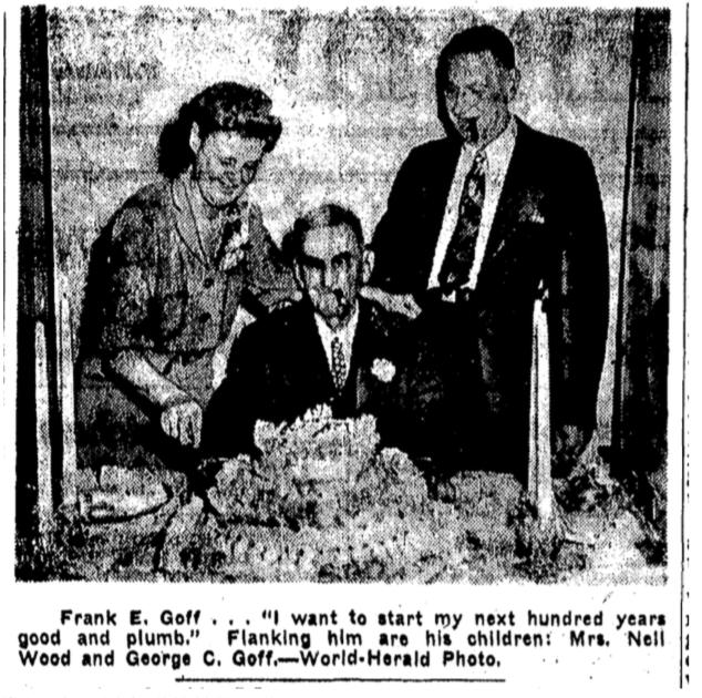 Frank E. Goff, North Omaha, Nebraska