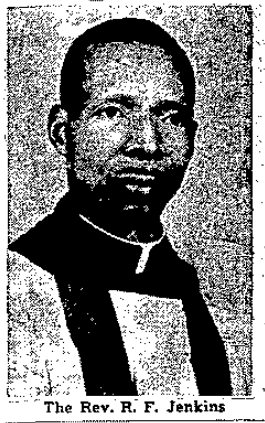 Rev. R. F. Jenkins (1912-2000), North Omaha, Nebraska