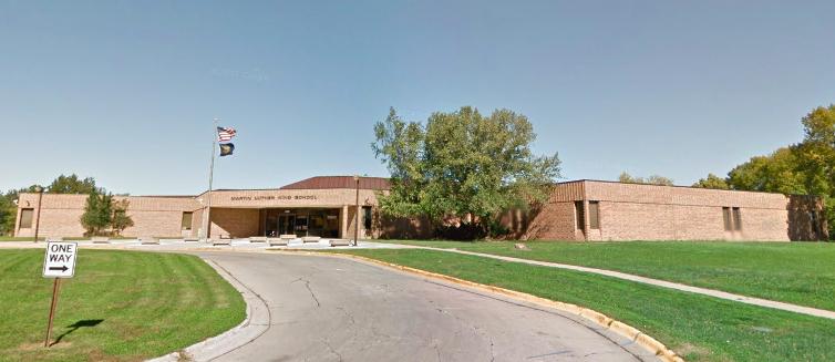 Martin Luther King, Jr. School, 3708 Maple Street, North Omaha, Nebraska
