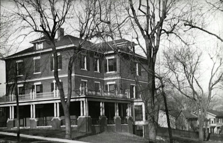 Levi Carter, 1908 Davenport Street, Omaha, Nebraska