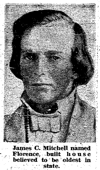 James C. Mitchell (1810-1860), North Omaha, Nebraska