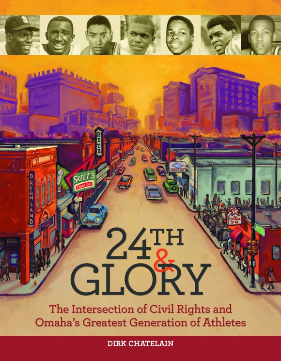 This is the cover of 24th and Glory by Dirk Chatelain