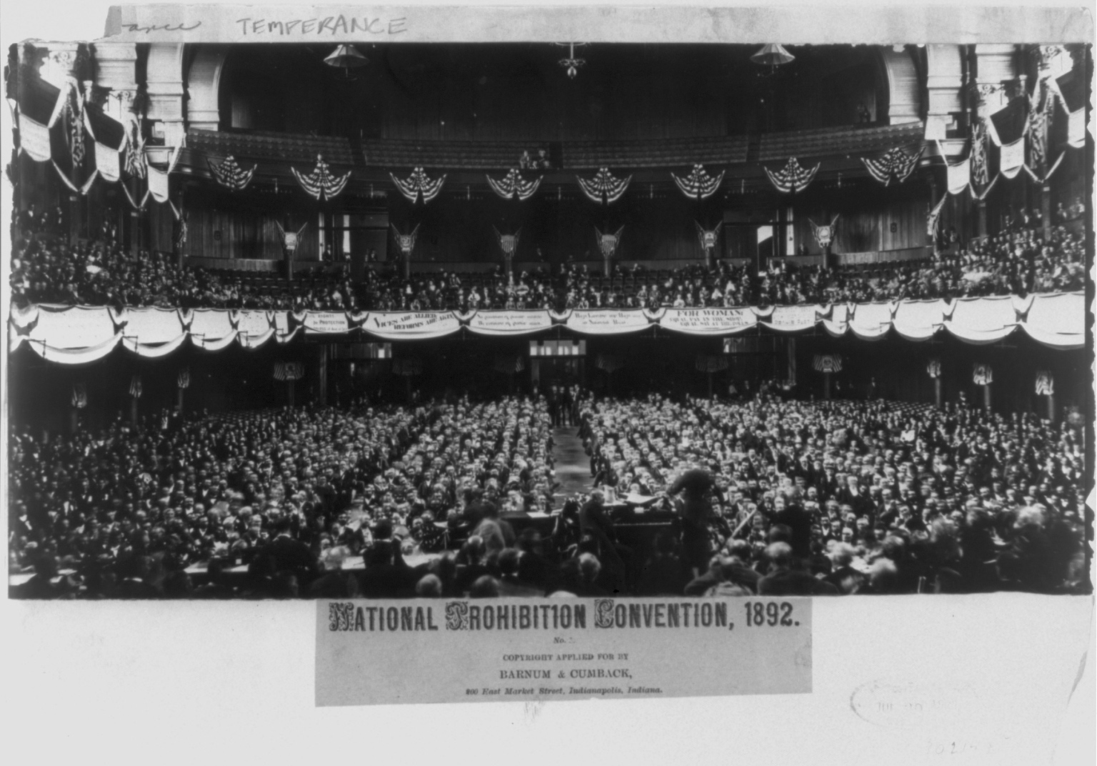 1892 National Prohibition Party Convention