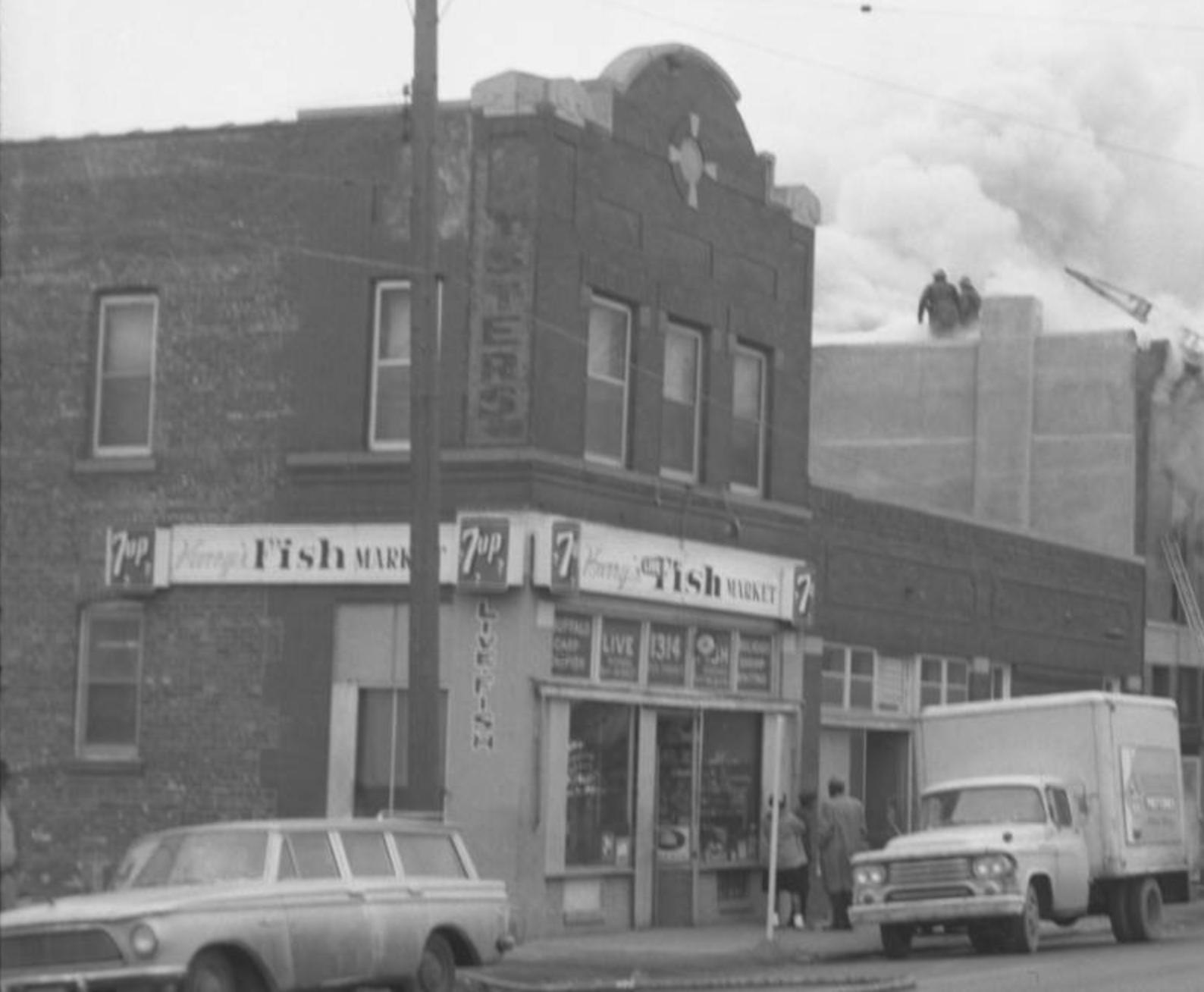 24th and Hamilton Street, North Omaha, Nebraska