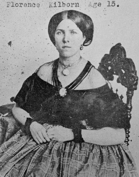 Florence Kilborn c.1867