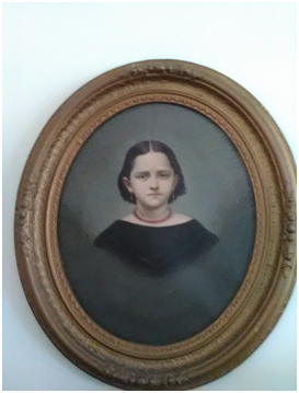 Florence Kilborn circa 1861