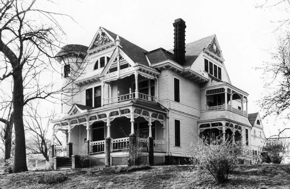 Zabriskie Mansion, 3524 Hawthorne Avenue, the Bemis Park Landmark Heritage District, North Omaha, Nebraska