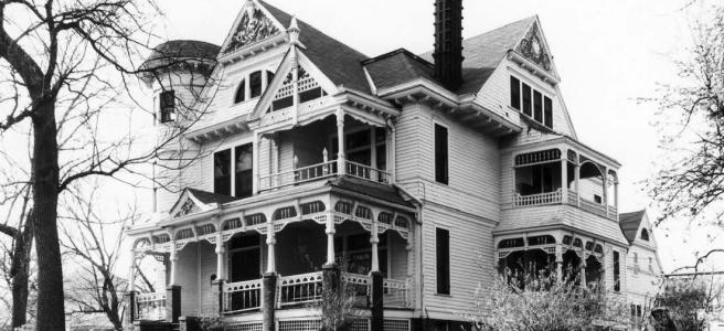 Zabriskie Mansion, 3524 Hawthorne Avenue, the Bemis Park Landmark Heritage District, North Omaha, Nebraska