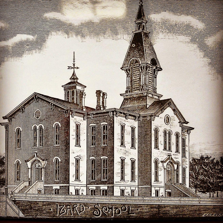Izard School, aka the North Omaha School, N. 17th and Izard f