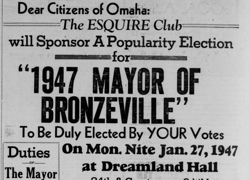 """A History of Omaha's """"BlackMayor"""""""