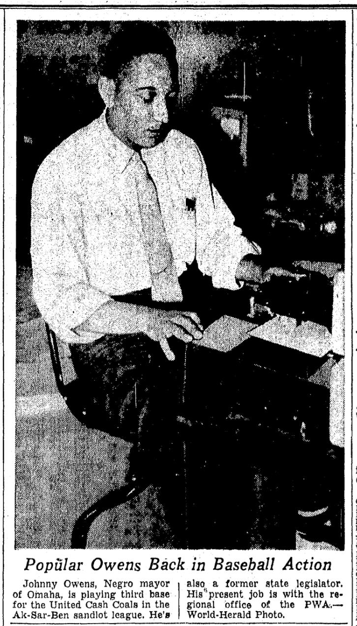 Johnny Owen in 1939