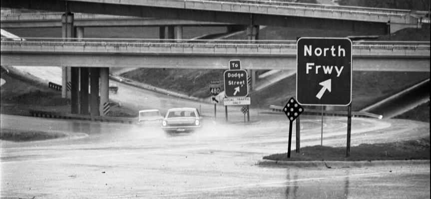 History of the North Freeway inOmaha
