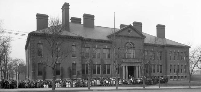 Cass School, 1410 Cass Street, Omaha, Nebraska