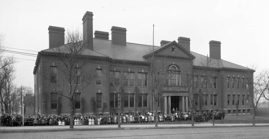 History of Cass StreetSchool