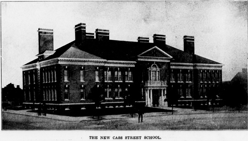 1899 Cass Street School, N. 14th and Cass Street, Omaha, Nebraska
