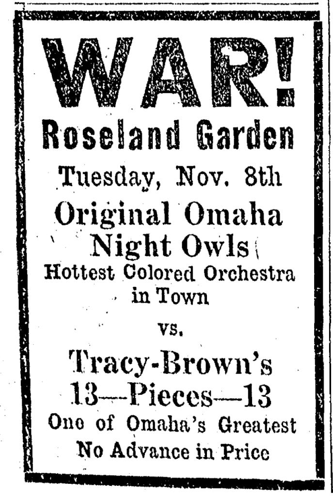 1923 Original Omaha Night Owls, Omaha, Nebraska