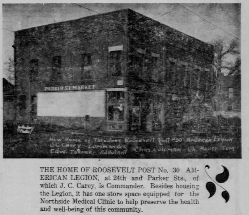 History of North Omaha's American Legion Post#30