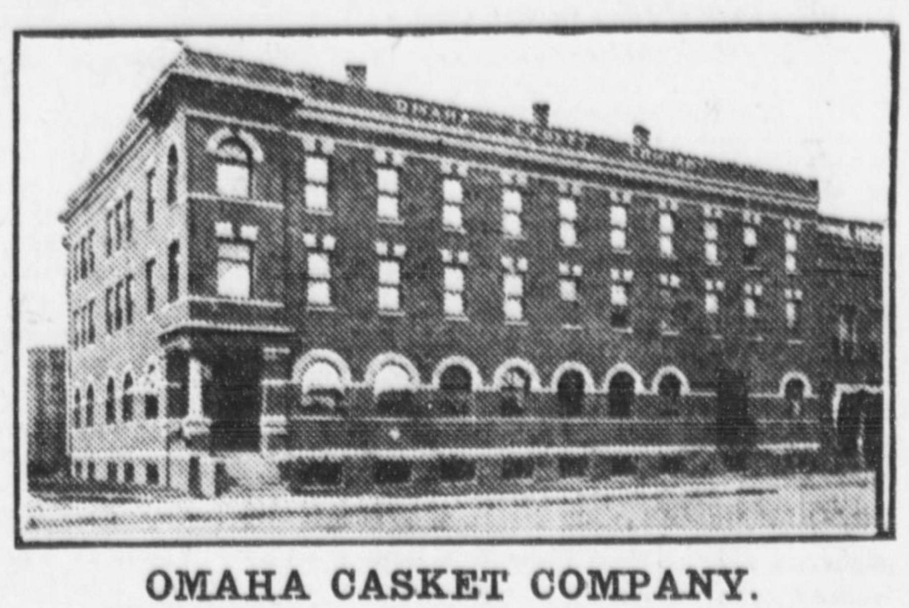 Omaha Casket Company factory, North Omaha, Nebraska