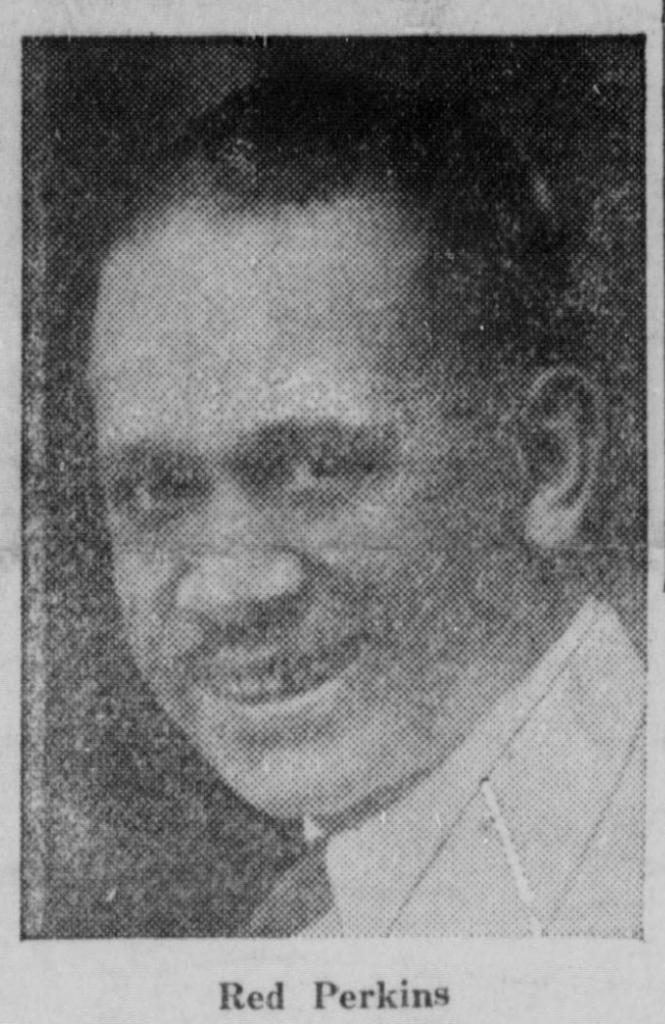 "This is Frank Shelton ""Red"" Perkins (1890–1976) of North Omaha, Nebraska."
