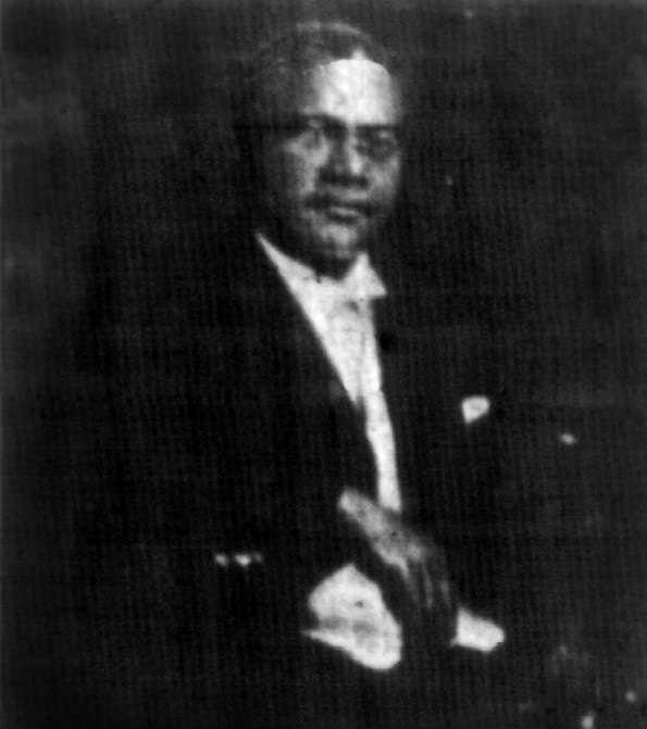This is Rev. Russel Taylor (1871-1933) circa 1924. He led St. Paul Presbyterian Church in North Omaha from 1920 to 1924.