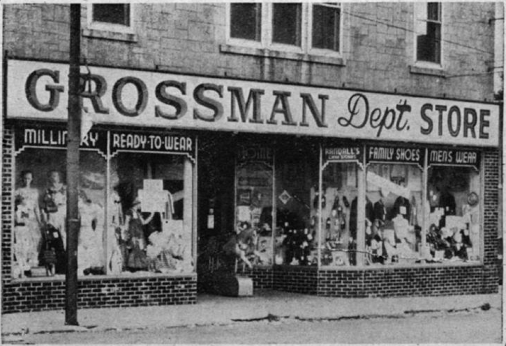 Grossman Department Store, N. 61st and Military Rd., Omaha, Nebraska
