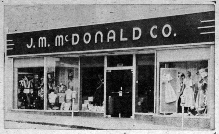 J.M. McDonald Co. Department Store at 6025 Military Avenue in Benson Historical District, Omaha, Nebraska