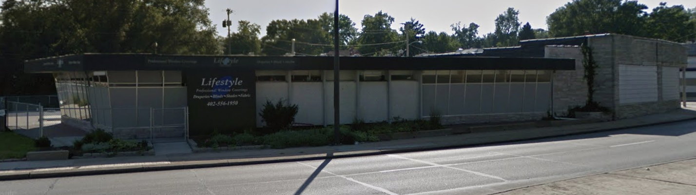 Yergy's Department Store, N. 48th and Military Ave. in the Benson neighborhood, Omaha, Nebraska.