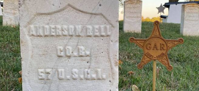 Pvt. Anderson Bell (1838-1903), North Omaha, Nebraska