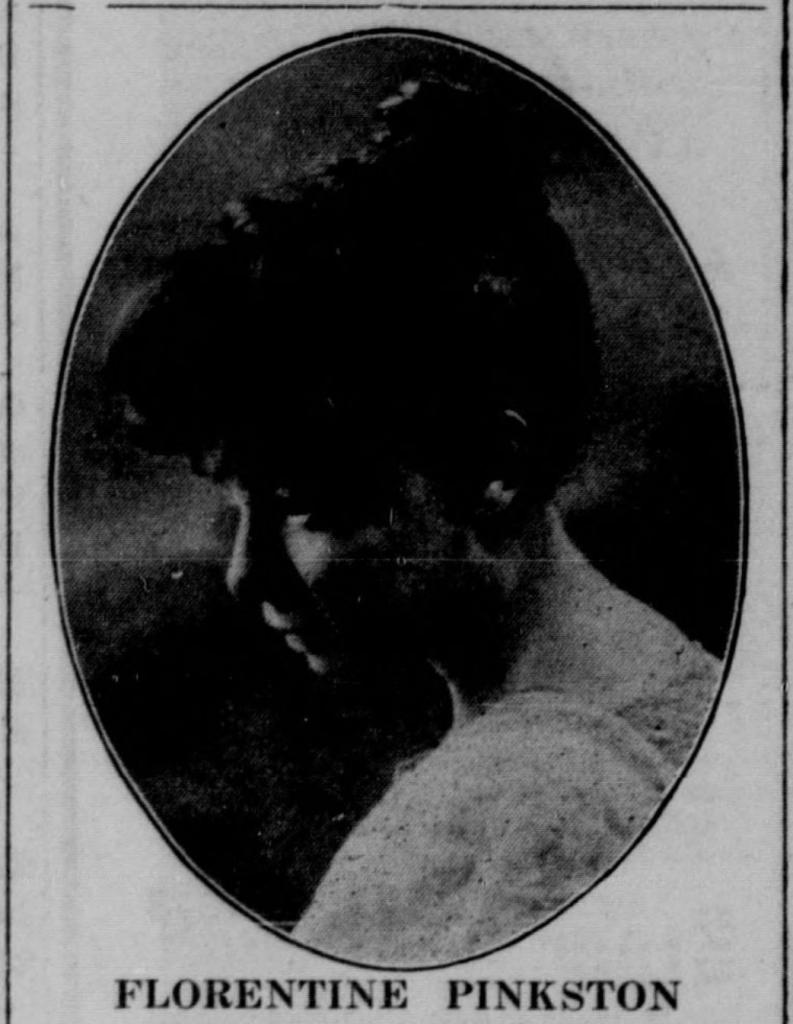 "Florentine ""Flora"" Frances Pinkston Mitchell (1887-1966). North Omaha, Nebraska"
